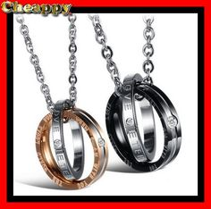 """Liefdes ketting met de tekst """"The world looks wonderfull when i am with you"""" - Cheappy"""