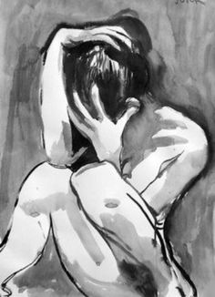 the point where alone becomes lonely ~ Saatchi Online Artist Surajit Chatterjee