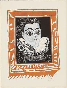 Pablo Picasso Jaqueline a la Fraise