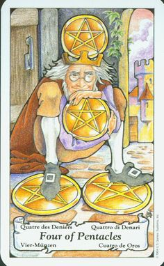 The Hanson-Roberts Tarot is the deck I learnt to read with. it's an easy to understand one for beginners and has positive, slightly medieval artwork that was originally drawn in coloured pen… Best Tarot Decks, True Tarot, Vintage Tarot Cards, Tarot Card Spreads, Pentacle, Stars And Moon, Monet, Medieval, Artwork