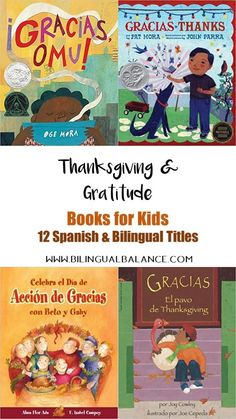 Spanish Thanksgiving Books for Kids - Bilingual Balance