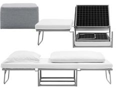Ottoman that extends into a bed - We Love Functionality