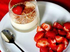 Witte chocolademousse met aardbeien ~ My Simply Special
