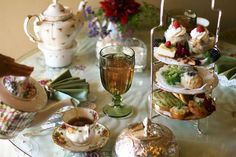 The Aubrey Rose Tea Room is the place to go for authentic afternoon tea in San Diego.