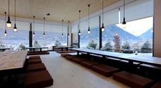 Rocky Pop new ski hotel in Chamonix, France. Grands Salons, Chamonix, Ski Season, Ski Holidays, Skiing, Cool Stuff, Places, Travel, Furniture