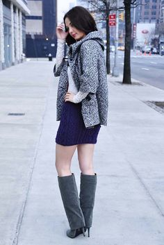 """Ravelry: """"Heart Me Forever"""" Girls and Adult Heart Cable Knit Skirt pattern by Lauren Riker"""