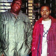 Biggie Smalls,  Nasty Nas.