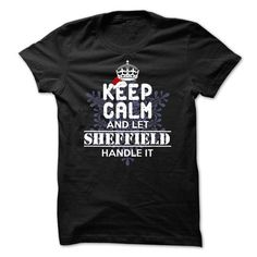 I Love SHEFFIELD  -Special For Christmas T-Shirts
