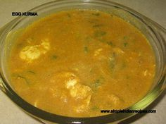 Egg Kurma - Muttai Kurma Paneer Recipes, Egg Recipes, Egg Kurma, Easy Indian Recipes, Ethnic Recipes, Kurma Recipe, Instant Recipes, Rich In Protein, Korma