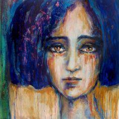 "Saatchi Art Artist Suhair Sibai; Painting, ""Blue!"" #art"