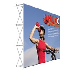 10ft x 8ft Straight RPL Fabric Pop Up Display NO Endcaps is the light version of our Ready Pop Fabric Pop Up Display. Still and awesome eye-catcher at your next trade show, the Lite version comes with a very attractive price!#Tradeshow#popup#display#backwall#backdrop#fabric#Custom#exhibit#ideas#wall#expo#exposition