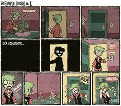 Bueno aquí publicaré el cómic en español. El comic NO es mío yo sólo … #detodo # De Todo # amreading # books # wattpad