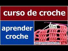 CURSO DE CROCHE PARA INICIANTES AULA 020/081 PONTO REDE - YouTube