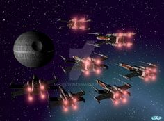 17 Star Wars - XWings Attack on Death Star by cosovin on DeviantArt Death Star, Star Wars, Deviantart, Stars, Movie Posters, Wings, Life, Film Poster, Starwars