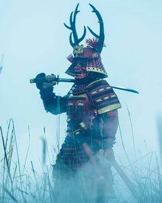 Oni Samurai, Samurai Warrior, Japanese Drawings, Japanese Art, The Last Samurai, Samurai Artwork, Warrior Tattoos, Japanese Warrior, Ghost Of Tsushima