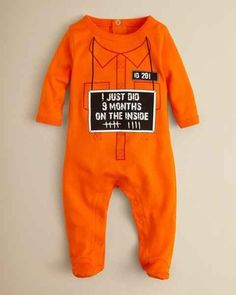 Orange Is the New Black | 36 Onesies For The Coolest Baby You Know
