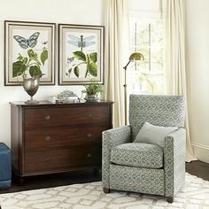 - for either master bedroom in between windows or den left of fire place in awkward gap Living Room Seating, Living Room Decor, Living Area, Living Rooms, New Furniture, Bedroom Furniture, Home Decor Shops, Ballard Designs, Florida Home