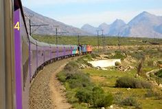 Deluxe train travel on a budget... Cape Town - Johannesburg