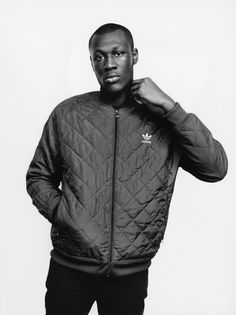 Stormzy in i-D's ones to watch 2015. Photography Matteo Montanari, Styling Max Clark.