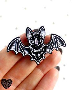 'Bat Echoes' Mini Pin 15.00