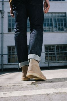 e8ad7be083f96 Desert Boot in Sand Suede  ClarksOriginals  Mens  Clarks  SS15  Boots  Shoes   DesertBoots   STYLISHkiddo   Pinterest   Desert boots, Clarks desert boot  and ...