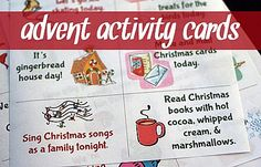 Catholic advent activity