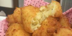 Nuvens de queijo Leva requeijão, queijo minas e parmesão