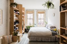 Inside a Yogi's Tranquil, 500-Square-Foot NYC Home on domino.com