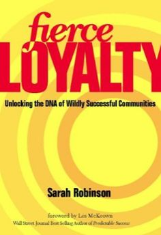 So honored by this review from @Sean McGinnis:  Book Review: Fierce Loyalty by @SarahRobinson