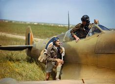 Supermarine Spitfire pilots of No. 40 Squadron, South African Air Force, at Gabes in Tunisia, April The Supermarine Spitfire pilot of. Ww2 Aircraft, Fighter Aircraft, Military Aircraft, Aircraft Carrier, Spitfire Supermarine, South African Air Force, The Spitfires, Ww2 Planes, Battle Of Britain