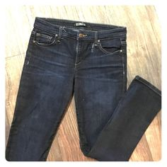 Joes Jeans Boot cut Joes Jeans with minor tear near belt loop (shown in picture). Joe's Jeans Pants Boot Cut & Flare