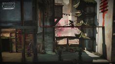 Assassin's Creed Chronicles China - Offizieller Screenshot.  Jetzt vorbestellen und ab 22. April Shao Juns Vergangenheit entdecken! ► http://ubi.li/6f764