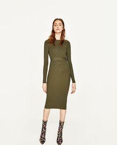 ZARA - WOMAN - CUT-OUT BACK DRESS