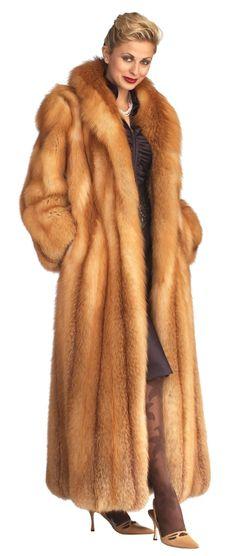 Long red fox coat                                                                                                                                                                                 More