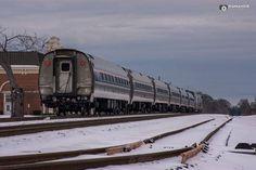 #amtrack #train #SnOMG2016 #SnoWBTV #wcncstorm @rowan_county_wx @wxbrad  @AllisonWSOC9 @DianaRuggOnTV   Amtrack Train coming through Kannapolis NC  (C) 2016 RomanDA Photography All Rights Reserved.
