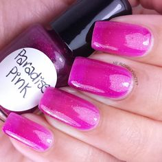 Paradise Pink by Heather's Hues part of the Caribbean Getaway Collection. Polish now available for purchase: http://heathers_hues.storenvy.com Full review and more swatch photos available on my blog ManicuredandMarvelous.com.  #nail #nails #nailpolish #indie #polish  #swatch #polishswatch