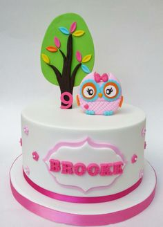 Eunice Cake Designs - Not only is this a cute cake design, it also has my name on it :) lol