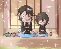Byakuya Kuchiki & Rukia