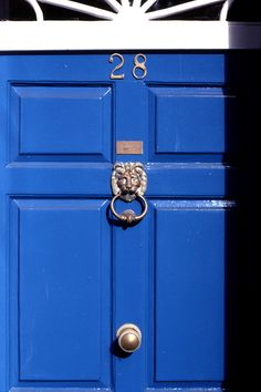 Seriously considering a bright blue front door