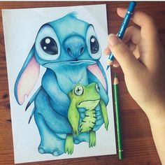 Pin by ashley wright on lilo & stitch in 2019 рисунки, рисунок, дисней. Disney Stitch, Scrump Lilo And Stitch, Lilo And Stitch Drawings, Lilo And Stitch Quotes, Realistic Drawings, Colorful Drawings, Easy Drawings, Disney Sketches, Disney Drawings