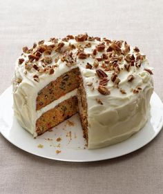 Carrot Cake | Need a sweet centerpiece for your holiday meal? Celebrate the season with these festive spring cakes.