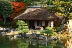 Shokin-tei, Katsurarikyu, Kyoto, Japan 京都 桂離宮 松琴亭
