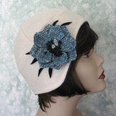 Vintage Womens Hats | PDF Vintage Womens Flapper Hat Pattern | hats I love