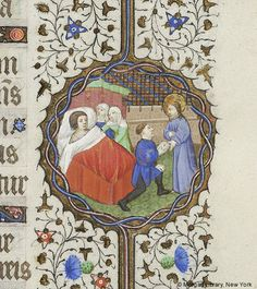Book of Hours, MS M.359 fol. 76r - Images from Medieval and Renaissance Manuscripts - The Morgan Library & Museum