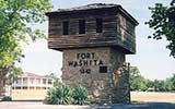 Fort Washita in Durant, Oklahoma was built-in 1842 by then General and later President Zachary Taylor. At the time it was the southwestern most military post in the United States. The initial purpose of the fort was to keep the peace between the Plain In