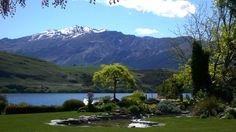 Overlooking Lake Hayes to Coronet Peak Luxury Real Estate, New Zealand, Mountains, Nature, Travel, Naturaleza, Viajes, Destinations, Traveling