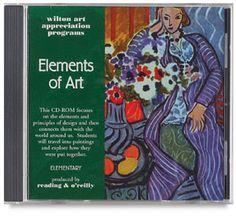 Wilton Series 100 Art Apprecitation CD-Roms  Smart Board compatible content