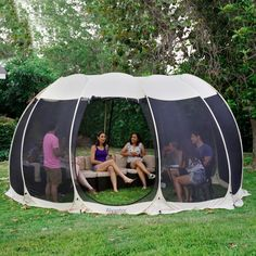 Screen House Outdoor Pop Up Canopy Tent Patented – Alvantor Screen Tent, Screen House, Pop Up Canopy Tent, Canopy Outdoor, Tent Camping, Outdoor Camping, Glamping, Pop Up Screens, Portable Gazebo