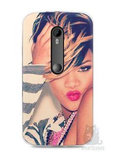 Capa Moto G3 Rihanna #1