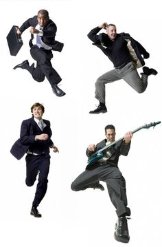 AnatoRef — Business Wear Action Poses (Various Unknown. - AnatoRef — Business Wear Action Poses (Various Unknown… AnatoRef — Business Wear Action Poses - Action Pose Reference, Pose Reference Photo, Human Poses Reference, Figure Drawing Reference, Anatomy Reference, Poses Dynamiques, Cool Poses, Art Poses, Drawing Poses